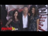 """Rumer Willis, Bruce Willis, Emma Heming at """"The Expendables"""" Premiere"""