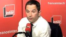 Benoît Hamon fustige Manuel Valls et «l'opportunisme compulsif de quelques-uns»