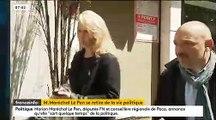 La lettre d'adieu de Marion Maréchal-Le Pen à ses électeurs publiée ce matin Voilà pourquoi je me retire de la vie politique...