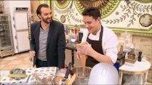 """Regardez les retrouvailles entre Cyril Lignac et son ancien apprenti dans """"Le meilleur pâtissier"""""""