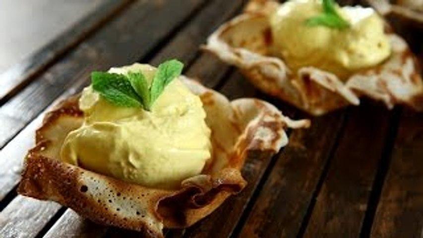 Mango Ice Cream Recipe Without Ice Cream Maker | Eggless Recipe | Quick and Easy Recipe By Upasana
