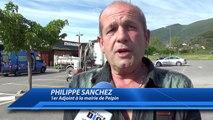 Alpes de Haute-Provence : fuite de gaz près du McDo de Peipin. Le restaurant a ré-ouvert ce matin