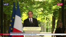 Replay. Le discours de François Hollande aux commémorations de l'abolition de l'esclavage le 10 mai 2017