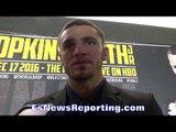 JOE SMITH JR BELIEVES SERGEY KOVALEV IS KEY TO DEFEATING BERNARD HOPKINS - EsNews Boxing