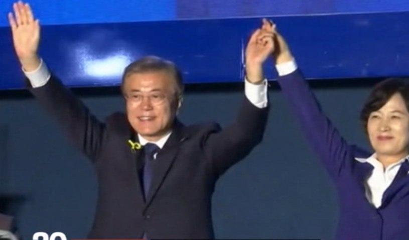 Le progressiste Moon Jae-in élu à la tête de la Corée du Sud