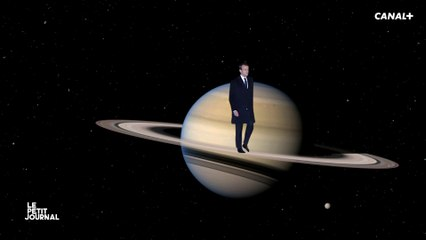 Macron Shooting Stars - Le Petit Journal - CANAL+