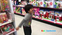 TOYS FOR KIDS! TOY HUNT Shopping Trip for Toys for Tots donation for boys and girls Ryan
