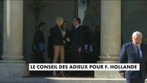 Dernière conseil des ministres de François Hollande - Politique