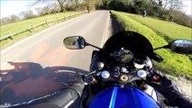 De Moto pela Inglaterra - R1 Crossplane - Inglat de 6) Canal Moto
