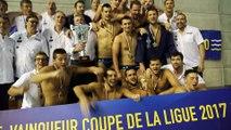 Water-polo: Montpellier vainqueur de le Coupe de la ligue 2017 contre le Cercle des nageurs de Marseille le 06/05/2017