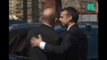 Les images d'Emmanuel Macron qui a assisté aux obsèques de la députée Corinne Erhel