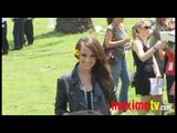 "Caitlyn Taylor Love (I'm in the Band) Arrives at ""A Time For Heroes"" Celebrity Picnic June 13, 2010"