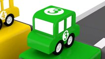Cartoon Cars - OBSTACLE RACE with Car Crashes - Car Cartoons for kids - Chil
