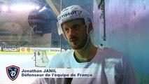 Interviews de Jonathan Janil et d'Anthony Rech à l'entrainement