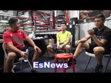 Pita Garcia Hector Tanajara and Joshua Franco say FLOYD MAYWEATHER IS THE BEST EVER EsNews Boxing