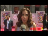 "MARIA CANALS-BARRERA on Camp Rock 2 at ""Toy Story 3"" World Premiere"