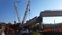 Crane Collapses During Viaduct Construction in Northern Italy