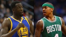 "Draymond Green KICKS BACK at Isaiah Thomas Over Kelly Olynyk ""Dirty Player"" Comments"