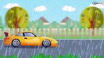 The Red Crane JCB Bulldozer & JCB Excavator - Trucks Cartoons for Kids - World of Cars for children