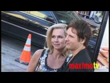 "Peter Facinelli and Jennie Garth at ""Letters To Juliet"" Los Angeles Premiere May 11, 2010"