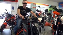 KTM Superduke Shopping trip with two of m