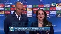 Atletico Madrid 2 - 1 Real Madrid DECLARACIONES ZIDANE _ pase a la final -