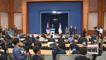 President Moon names chief secretaries at Cheong Wa Dae