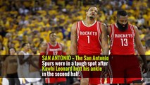 Manu Ginobili Blocks Harden to Give Spurs O. T. Victory and Series Lead -