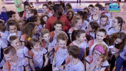Lille 2017 : Kafétien Gomis et les jeunes du LMA ont l'esprit d'équipe !