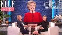 La petite danse de Hillary Clinton !   The Ellen DeGeneres Show   Du Lundi à Vendredi à 20h10   Talk Show