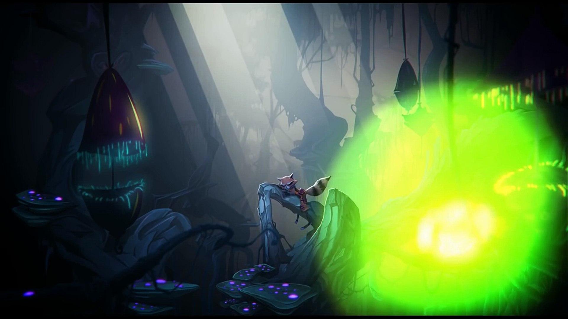 Rocket Raccoon & Groot Animation - Trailer