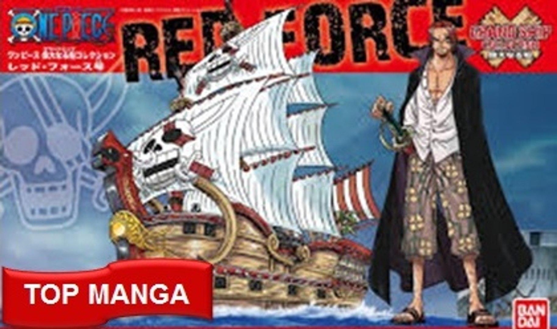 Những con tầu hải tặc khét tiếng nhất trong One Piece