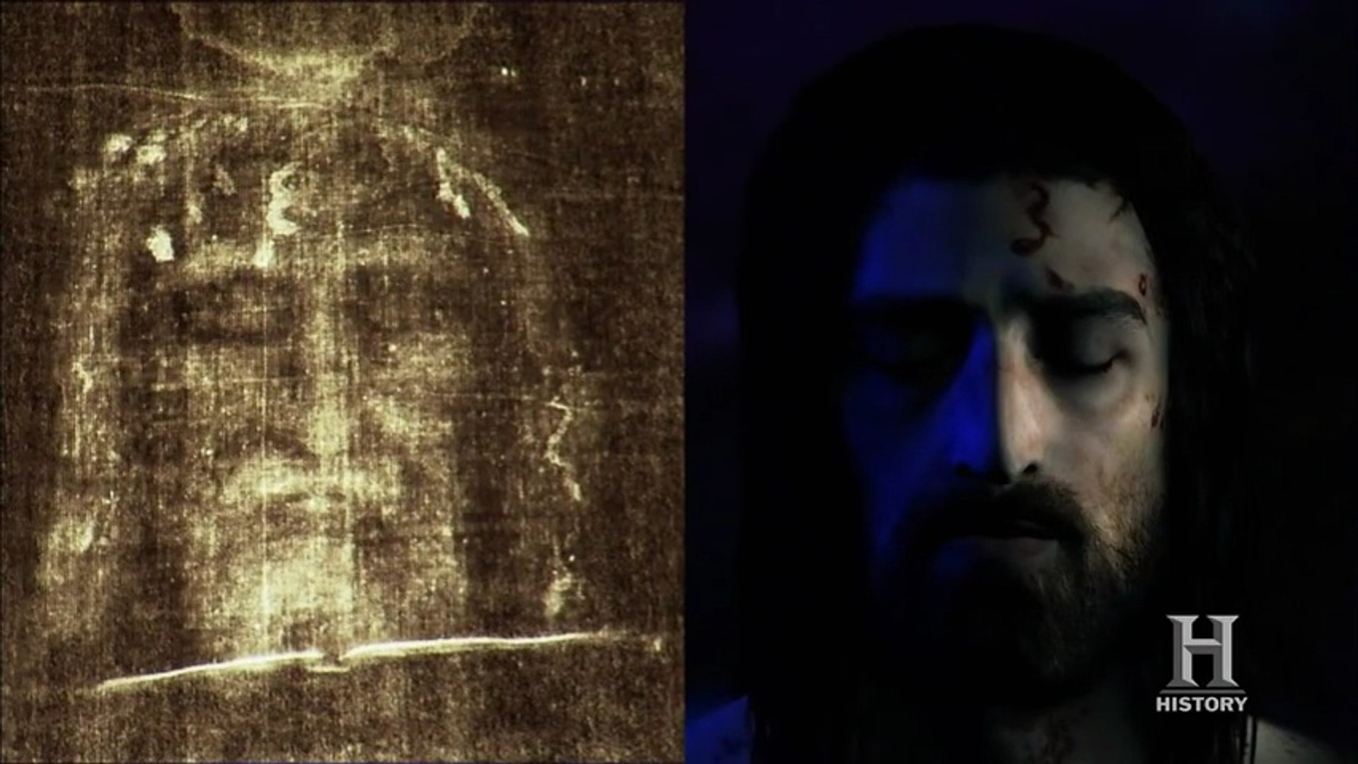 The Face Of Jesus Uncovered History Channel Video Dailymotion