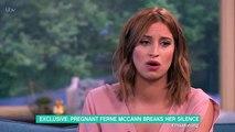 Pregnant Ferne McCann breaks down in first TV appearance 2017