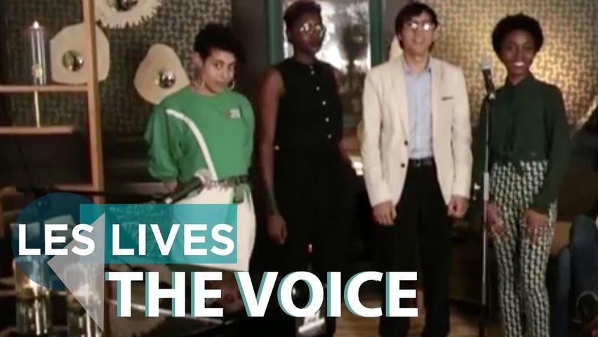 The Voice : 4 talents dans l'Appart' - Live & Interview