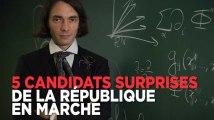 Législatives : les 5 candidats surprises de la République En Marche
