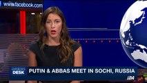 i24NEWS DESK | Putin and Abbas meet in Sochi, Russia | Thursday, May 11th 2017