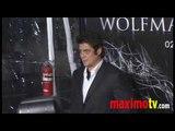 "BENICIO DEL TORO at ""The Wolfman"" Los Angeles Premiere Arrivals February 9, 2010"