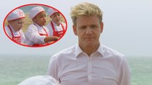 EXCLUSIVE: Gordon Ramsey Loses His Cool on 'Masterchef Junior' Cooks During Tense Group Challenge