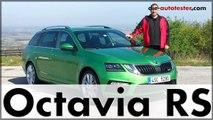 Skoda Octavia RS & Octavia Scout 2017  Test & Fahrbericht | Deutsch
