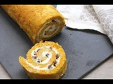 Carrot cake roulé - 750g