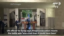 Aleppo evacuation mbattle less cruel_UN[1]