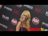 MONIQUE ALEXANDER Arriving at 2010 AVN AWARDS SHOW Las Vegas