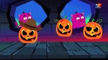 Doigt Famille _ Effrayant citrouille chanson _ Comptine pour  enfants _ Scary Pumpkin Finger Fam