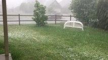 Hailstorm Slams Broken Arrow, Oklahoma