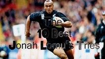 Les 10 plus beaux essais de Jonah Lomu
