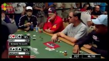 6 Poker Hands with Incredible Turn of Events