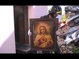 San Pellegrino di Norcia (PG) - Terremoto, recupero beni da abitazioni (12.05.17)