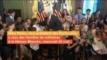 Après avoir reçu un petit coup sur le nez, un enfant exige des excuses du vice-président des Etats-Unis