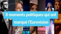 Les 8 moments où l'Eurovision est devenue politique